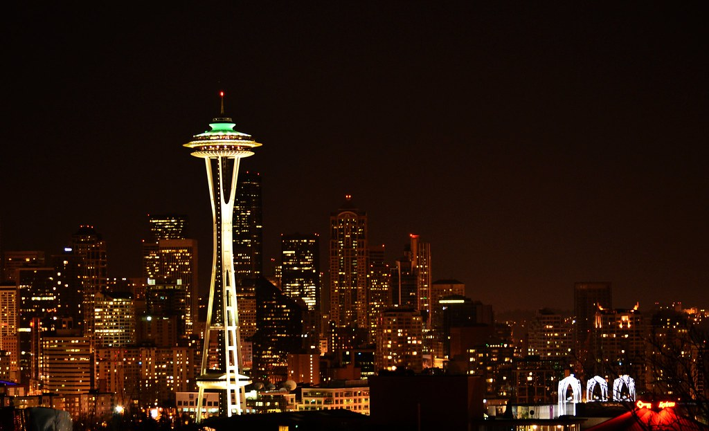 """""""Space Needle and Seattle Skyline"""""""